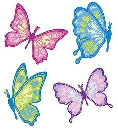 Pastel clipartfox clipartix. Butterflies clipart