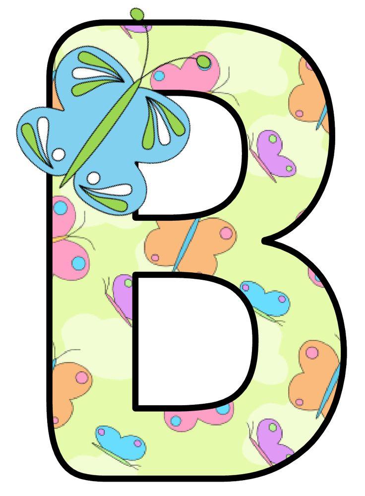 b clipart alphabet
