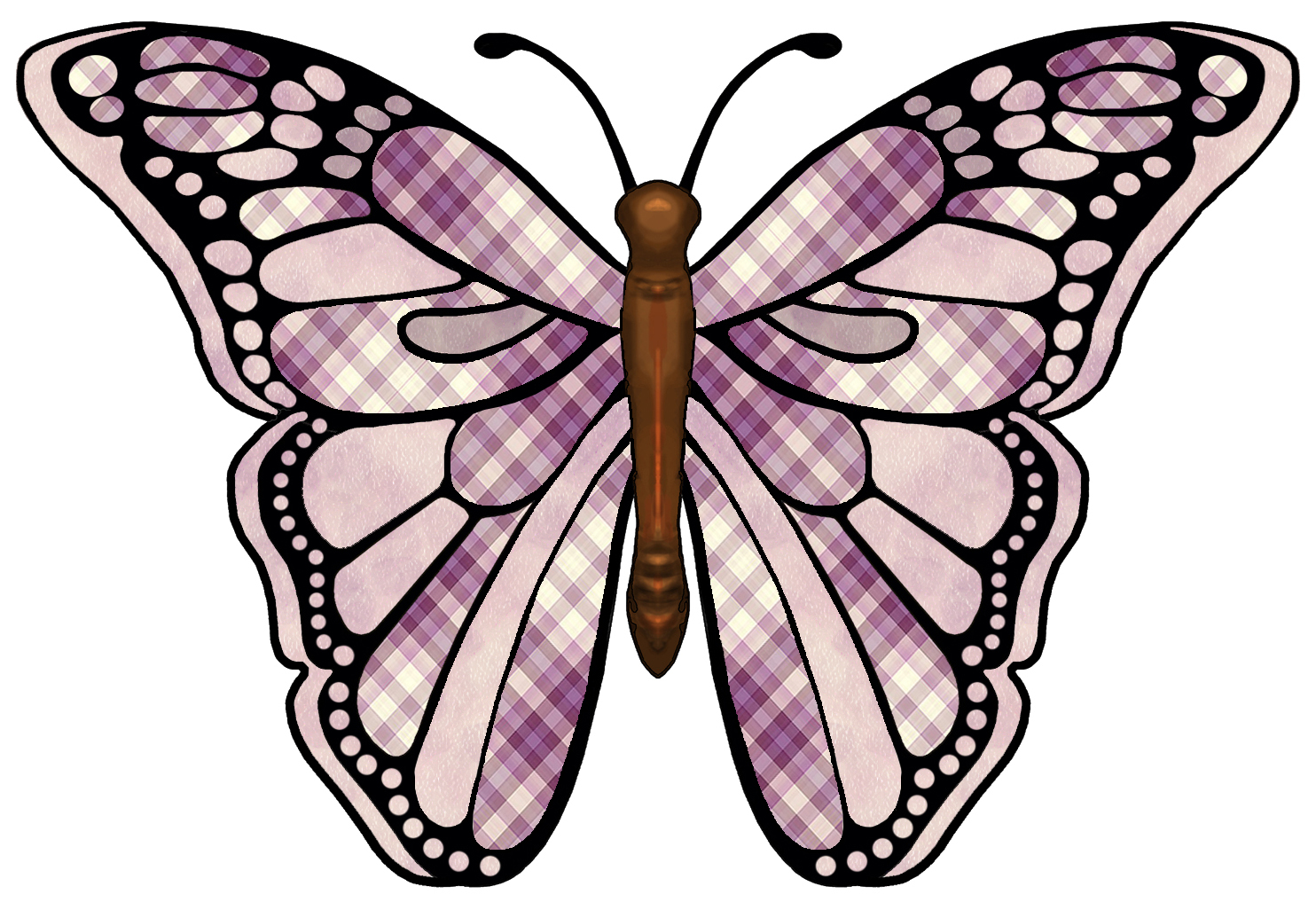 Pair wings clip art. Butterfly clipart angel