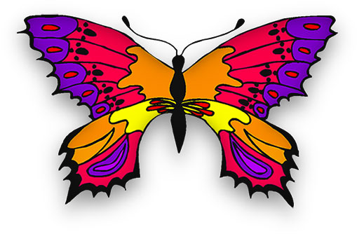 Butterfly clipart animation. Animated gifs in many