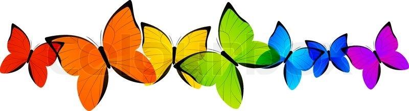 Butterfly clipart boarder. Butterflies border free download