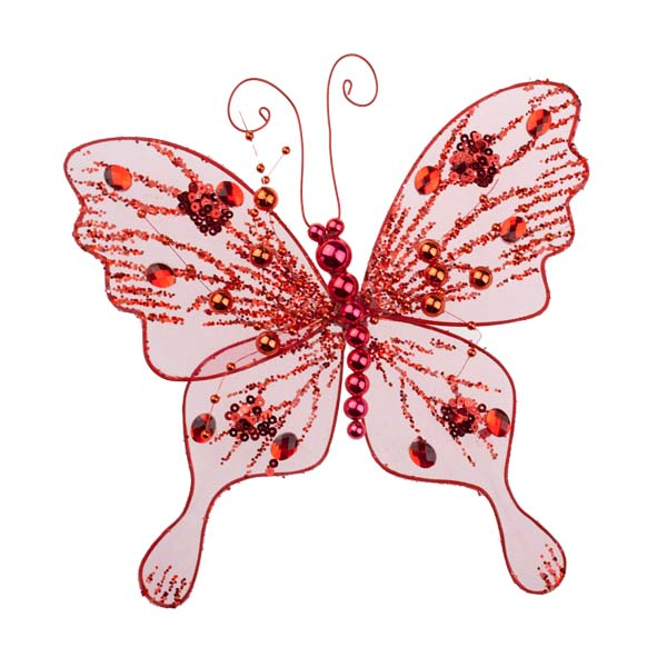 Butterfly clipart burgundy. Dark red wired painted