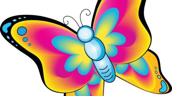 butterfly clipart cartoon
