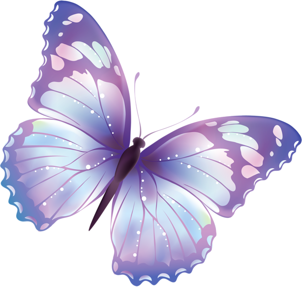 Clipart butterfly royal blue. Free transparent png large