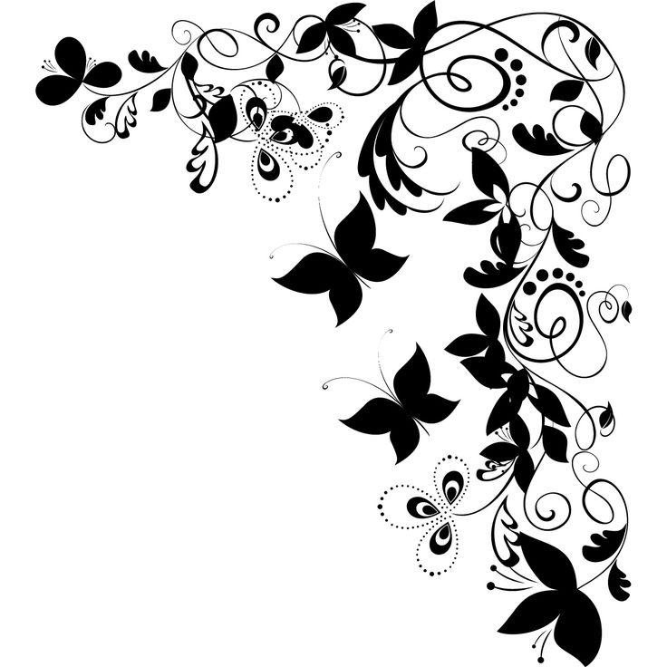 Butterflies corner