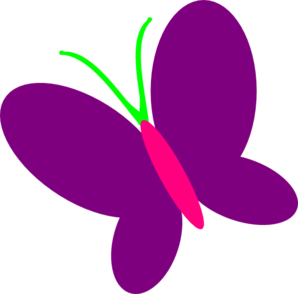 Cute butterfly free images. Clipart panda purple