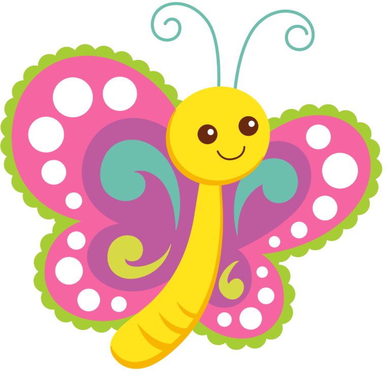 Clipart butterfly cartoon. Butterflies chalkboards clip