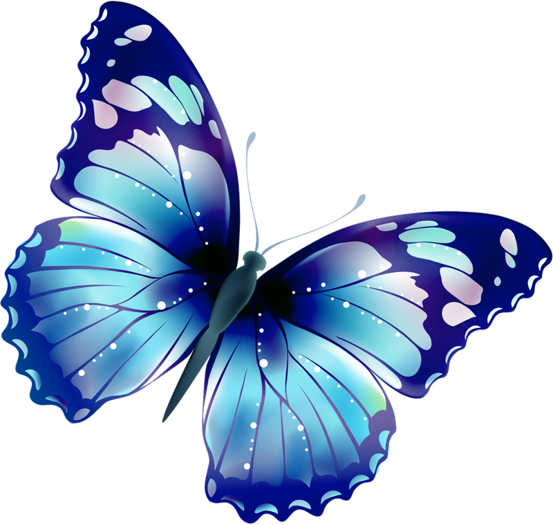 vines clipart butterfly
