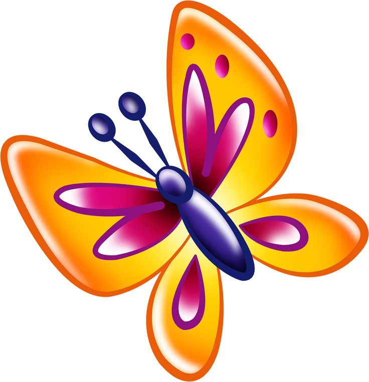 Butterflies clipart doodle.  best clip art