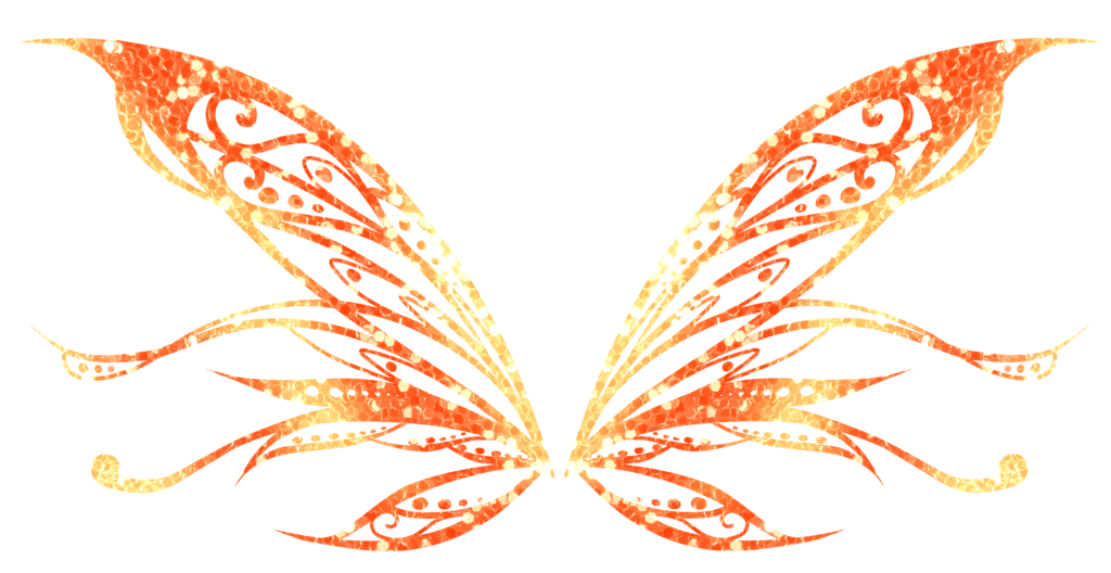 Serienya butterflix wings by. Clipart butterfly enchanted