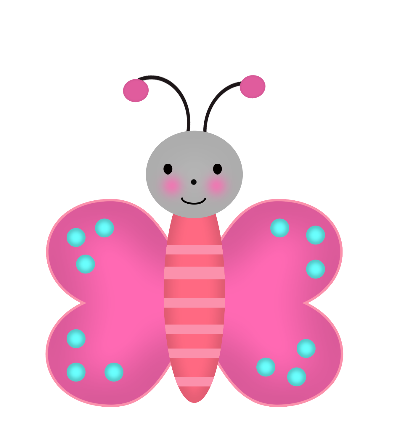 Butterfly clipart enchanted. Garden images oh my