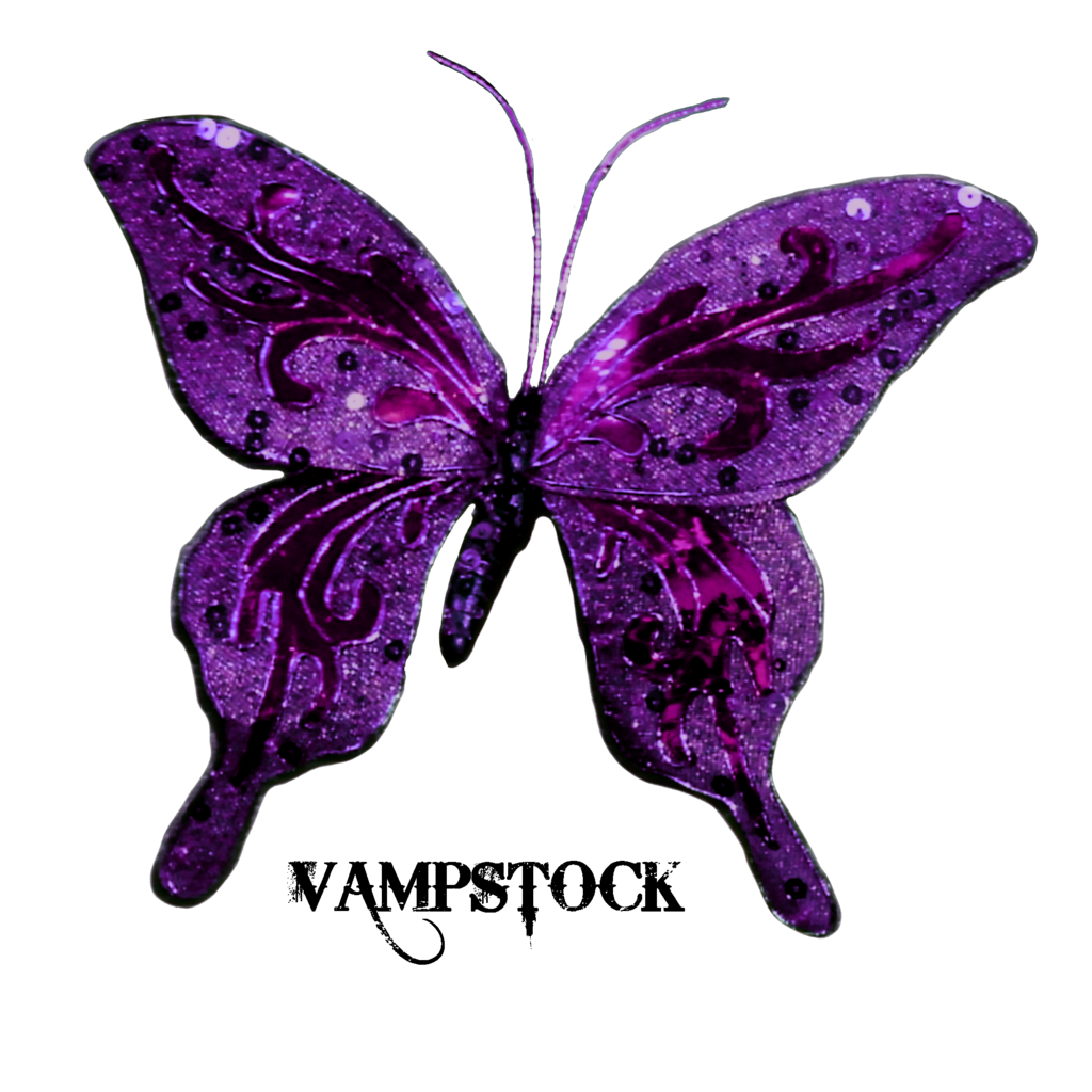 Butterfly clipart gothic. Glitter png vampstock by
