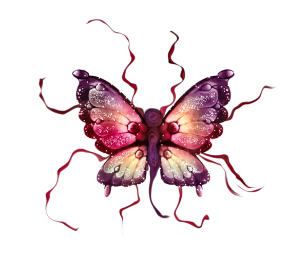 clipart butterfly gothic