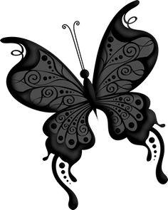 Goth fantasy art dark. Butterfly clipart gothic