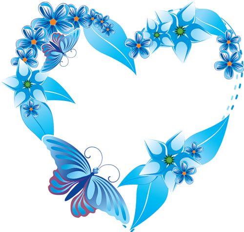 Butterfly clipart heart.  best coeurs hearts