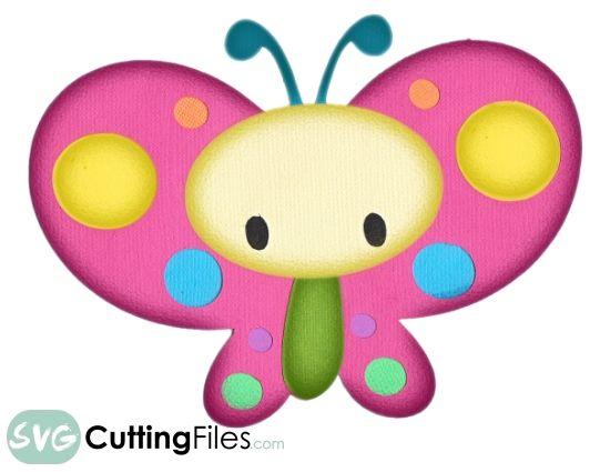 Butterfly clipart kawaii. Buscar con google flutterby