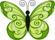 Butterfly clipart light green. Resultado de imagen escalera