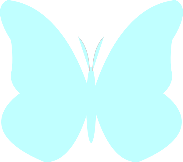 Clipart butterfly royal blue. Bright clip art at