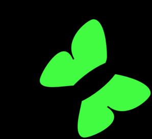 Butterfly clipart light green. Clip art panda free
