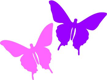 Butterfly clipart magenta.  best graphics images