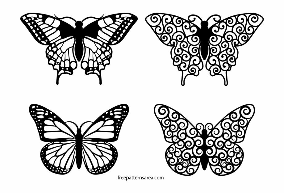 Clipart butterfly mandala. Clip art design