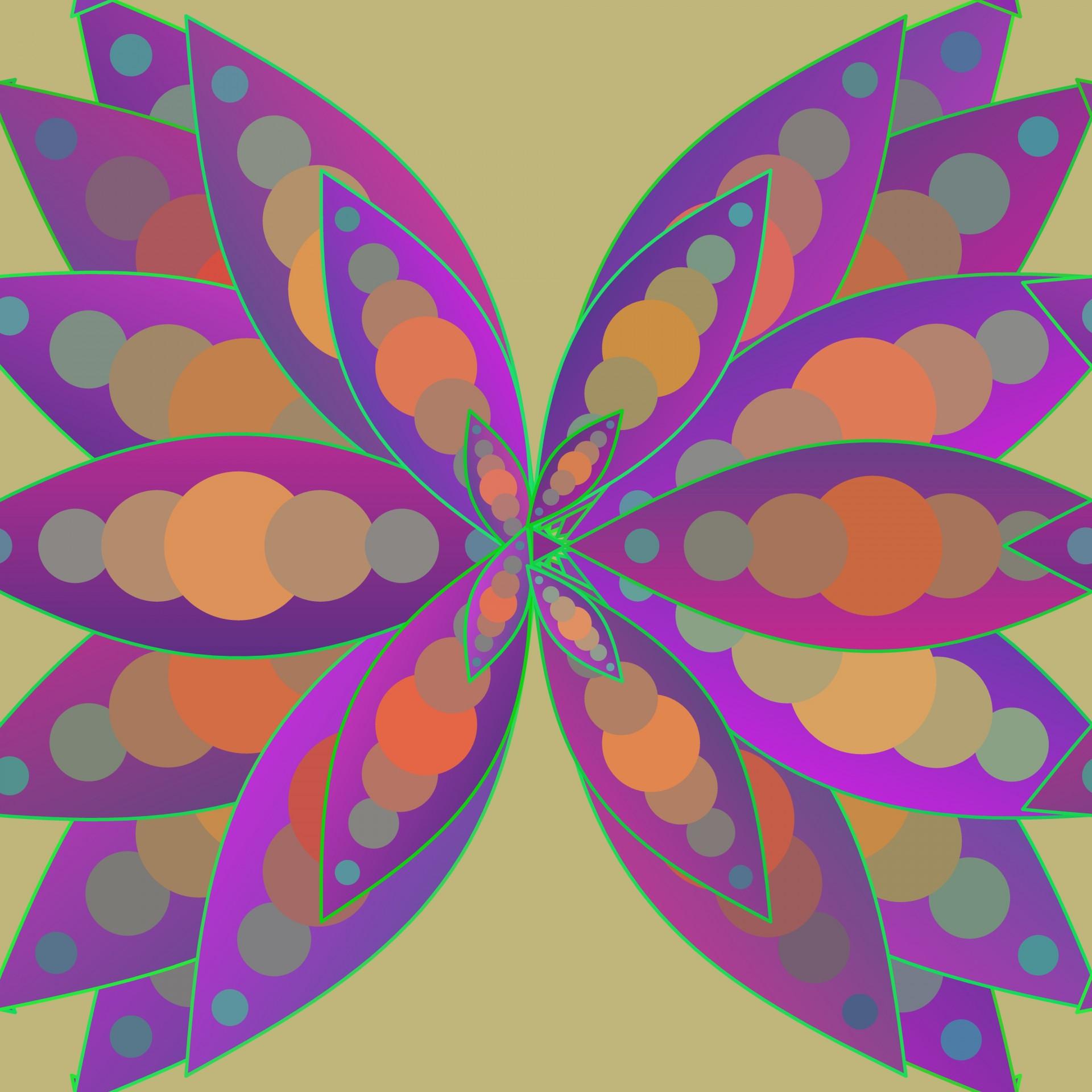 Free stock photo public. Butterfly clipart mandala