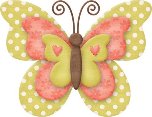 Butterflies clipart polka dot.  best mariposas images