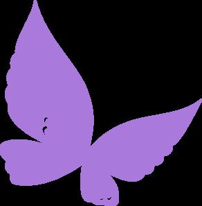 Free . Butterfly clipart purple