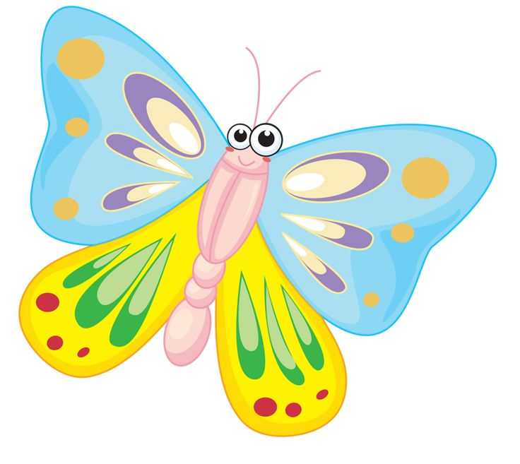 Butterfly clipart scene.  best banner images
