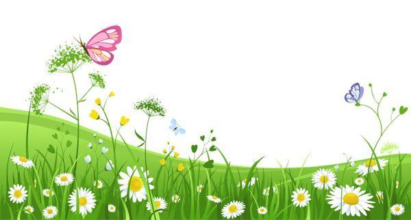 Garden scenes clip art. Butterfly clipart scene