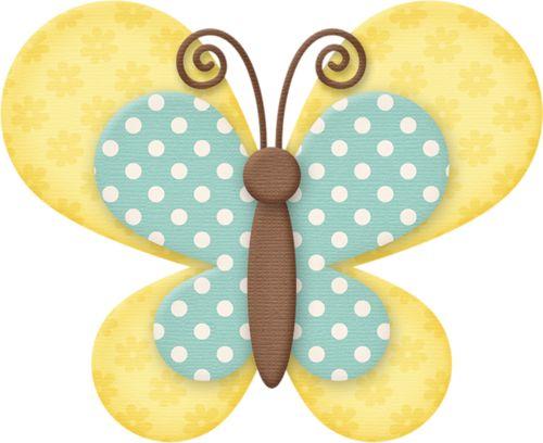 Butterfly clipart scrapbook.  best borboletas images