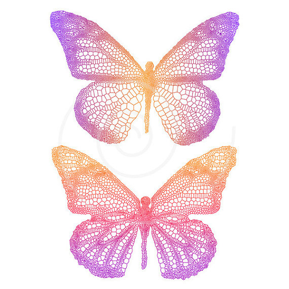 Clip art with detailed. Butterfly clipart scrapbook