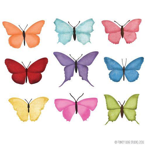 off sale digital. Butterfly clipart scrapbook
