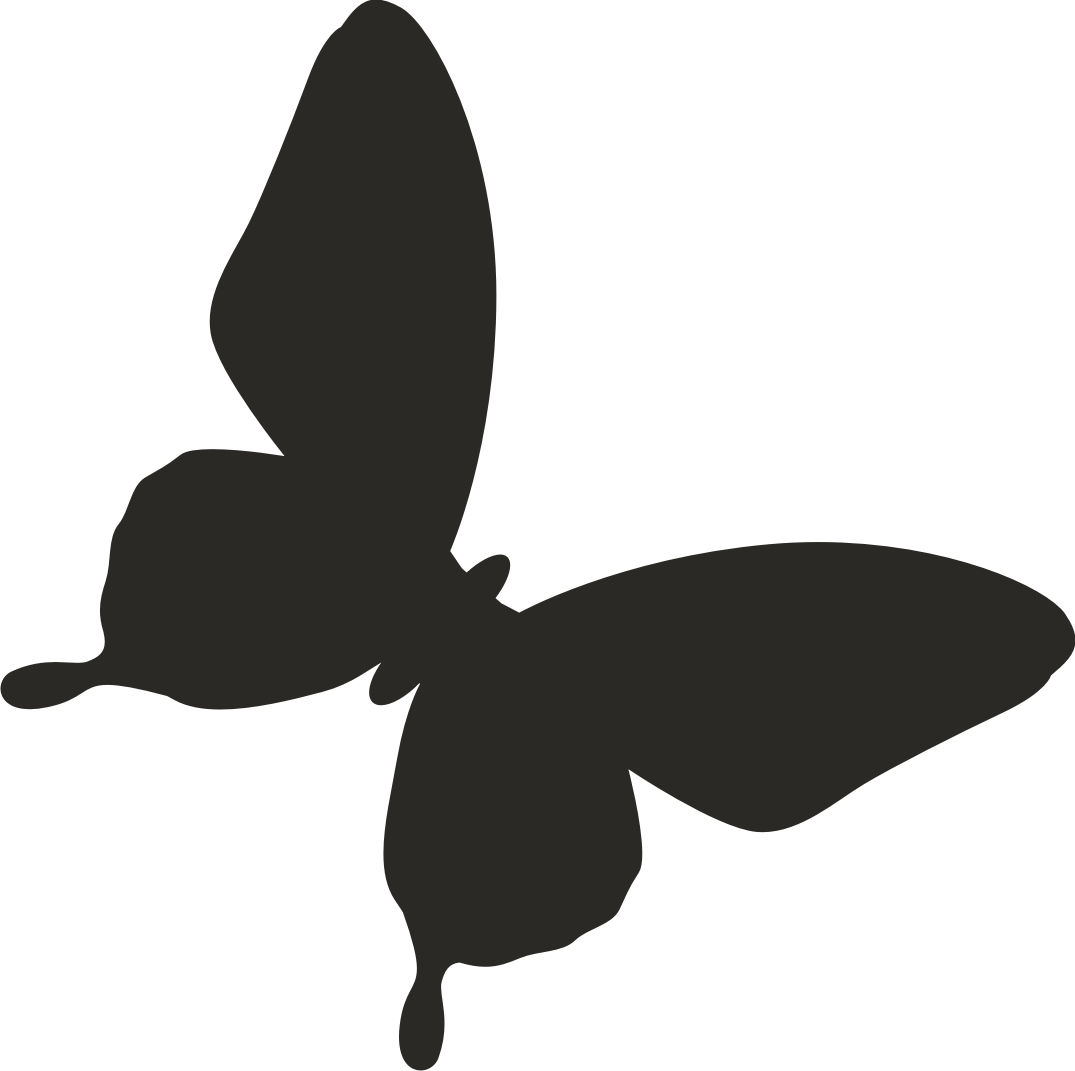 Butterfly clipart silhouette. Vector art best silhouettes