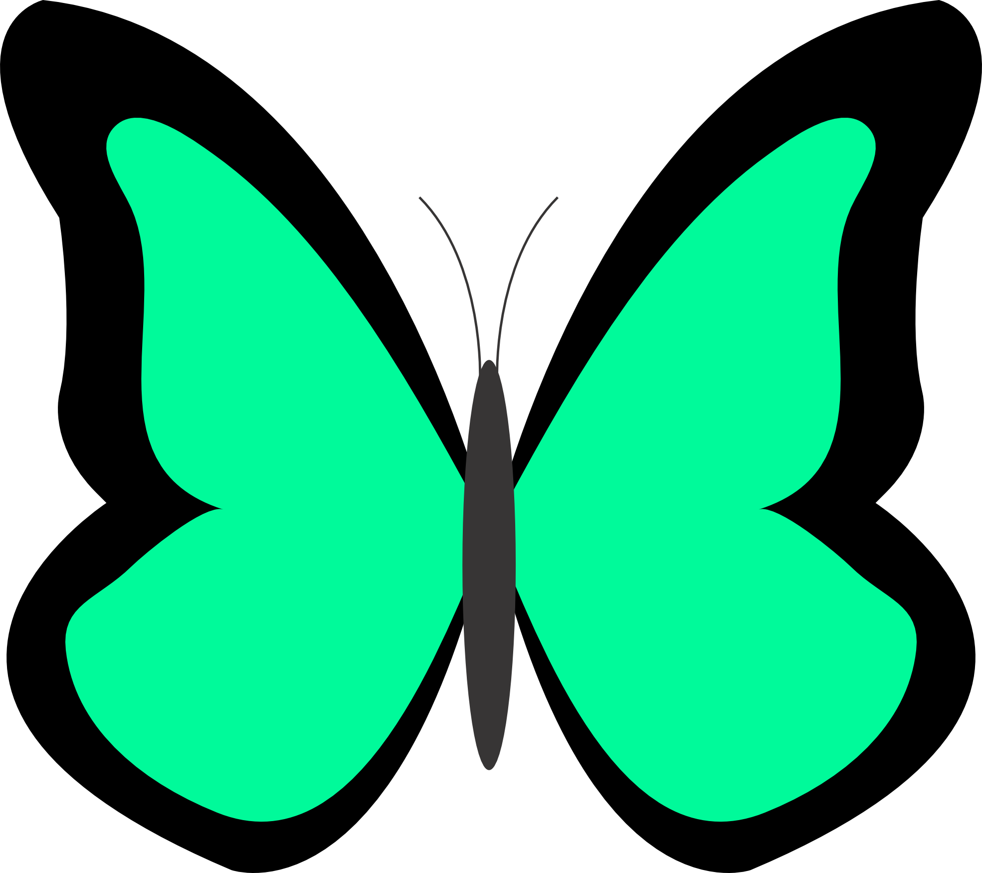 Clipart butterfly couple. Spring butterflies panda free