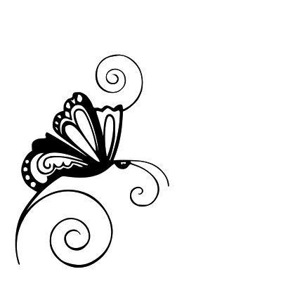 Butterflies clipart swirl. Jennifer collector of hobbies