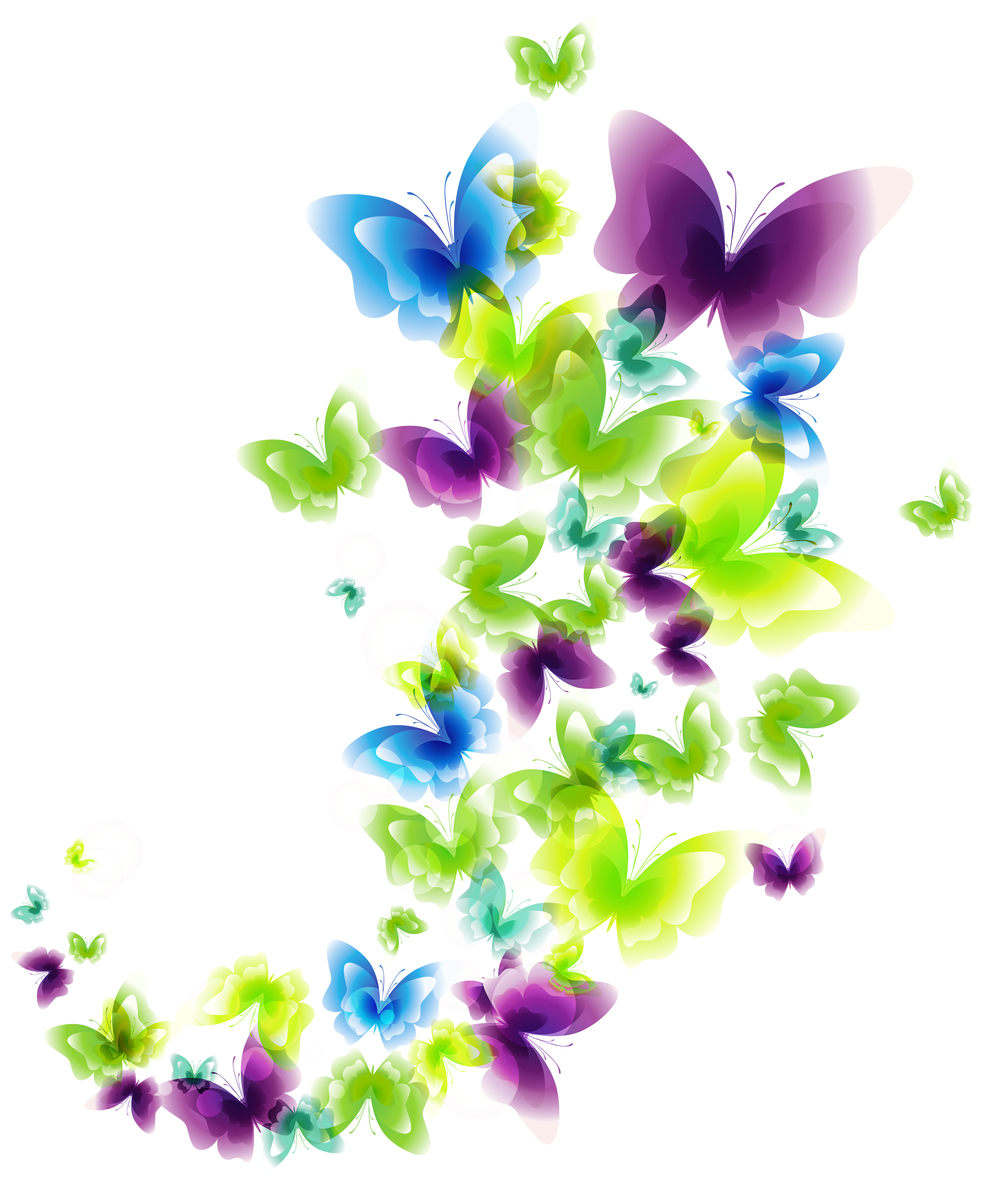 Lavender clipart lavender butterfly. Deco butterflies png picture