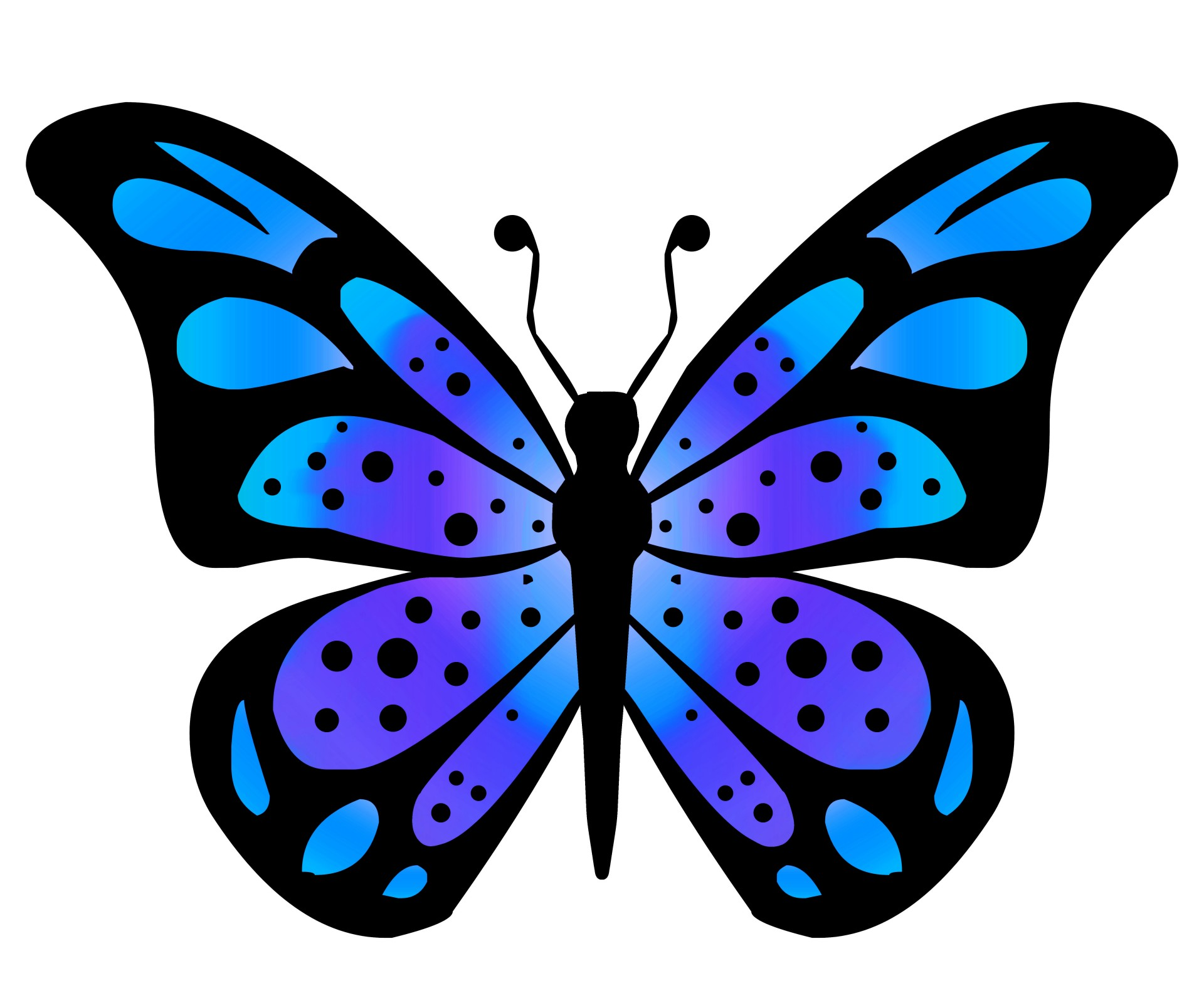 Free stock photo public. Clipart butterfly