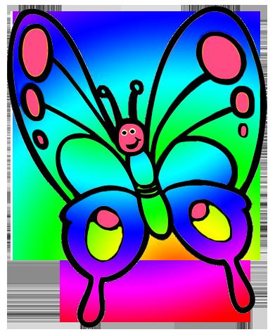 S pinterest clip art. Butterfly clipart