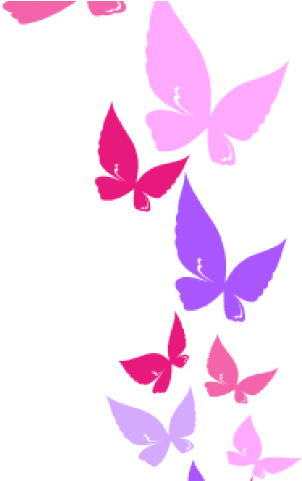 Hd rainbow border purple. Butterfly clipart boarder