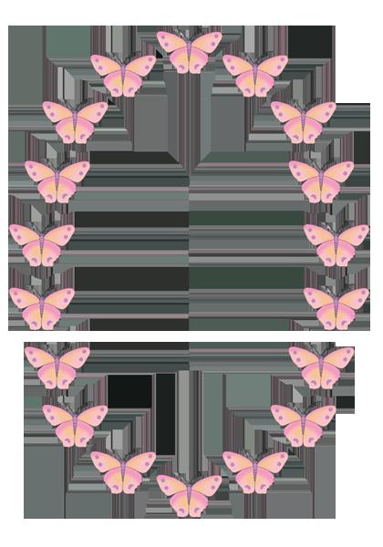 Boarder clipart butterfly. Border clip art free