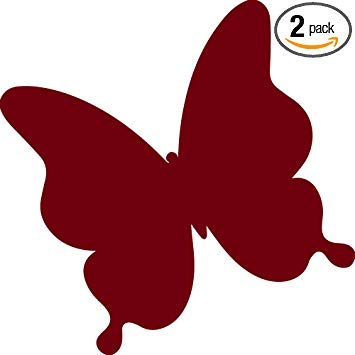 Butterfly clipart burgundy. Amazon com angdest icon
