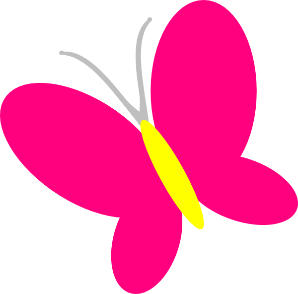 Clipart butterfly burgundy. Pink clip art at