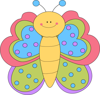 Clip art images pretty. Butterfly clipart cute