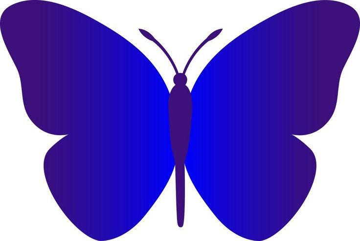 best images on. Butterfly clipart dark blue