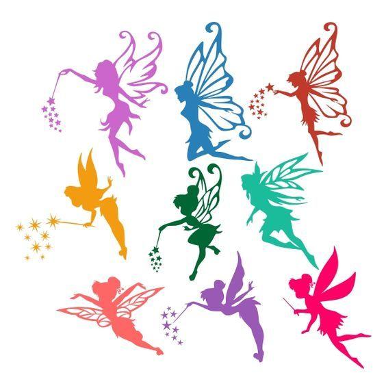 Butterfly clipart fairy. Flying cuttable design cut