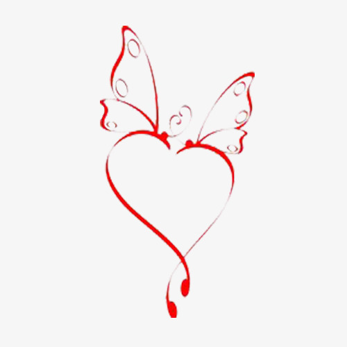 Butterfly clipart heart. Creative shaped design heartshaped