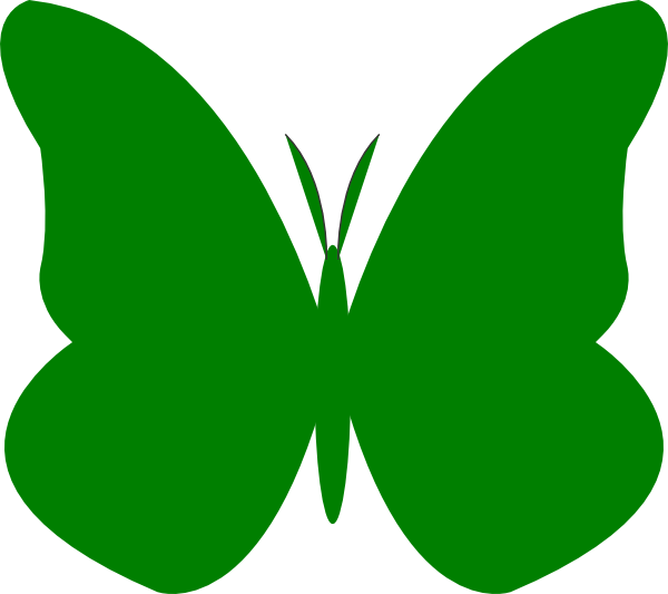Butterfly clip art at. Number 4 clipart bright
