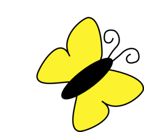 Butterfly panda free images. 7 clipart yellow