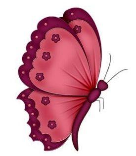 best butterflies images. Butterfly clipart magenta